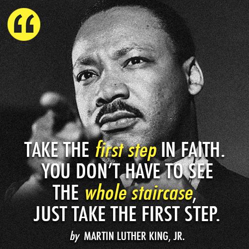 Happy Birthday Dr King Quotes ~ Martin luther king birthday baddaci
